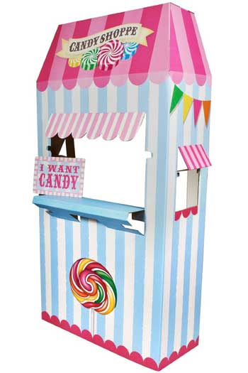 carnival candy stand