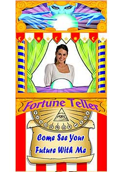 carnival fortune teller prop