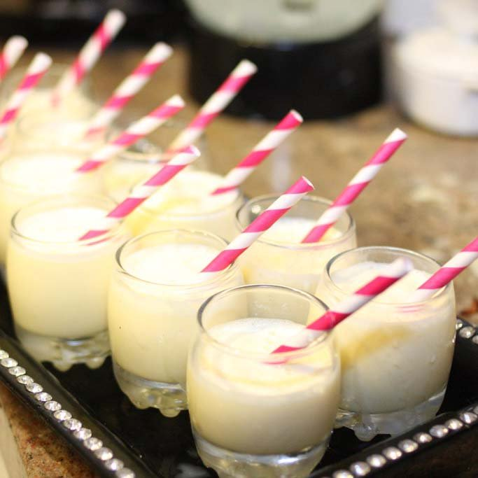 carnival party drinks popcorn milkshake