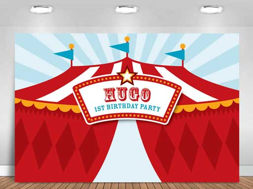 printable carnival backdrop