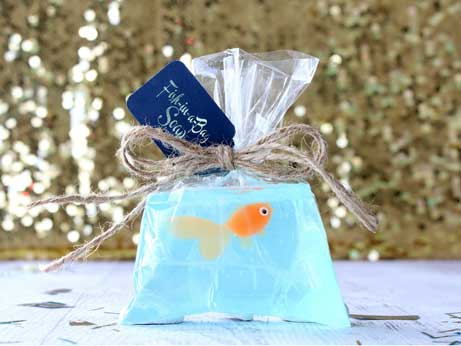 carnival party favors goldfish soap
