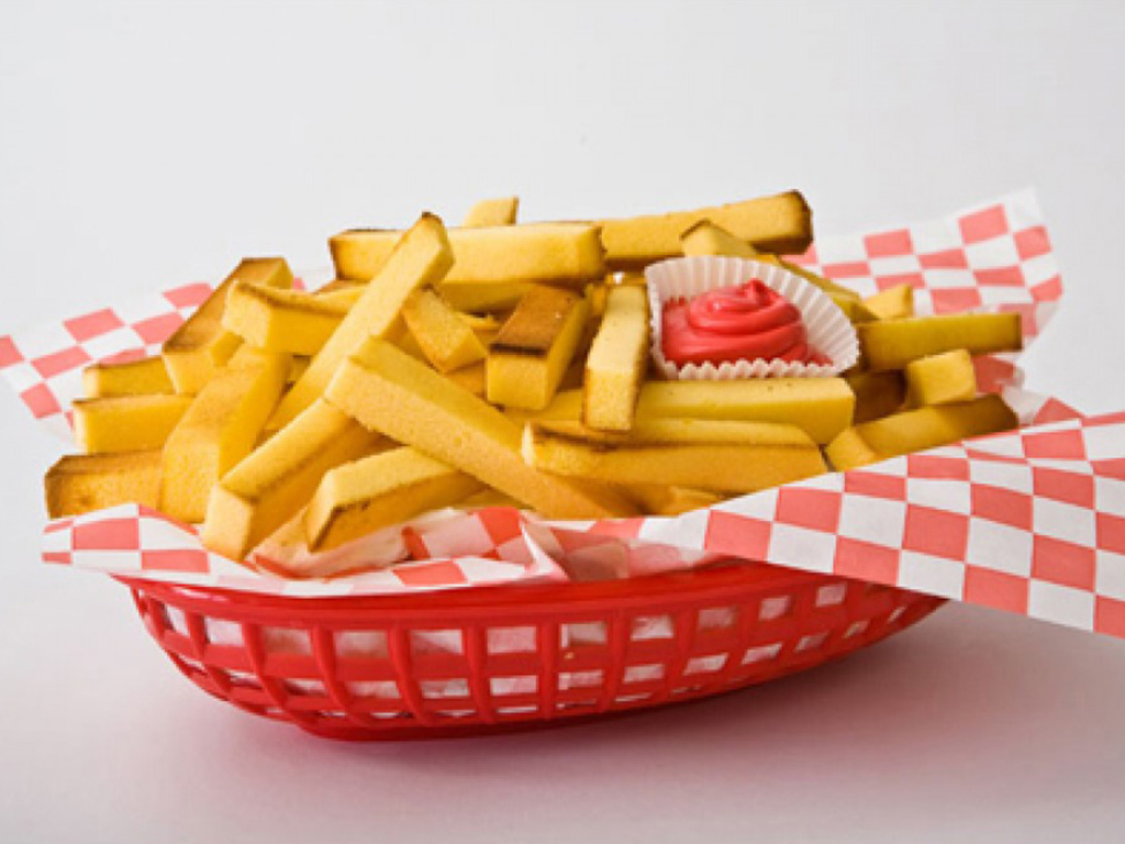 french fries pound cake