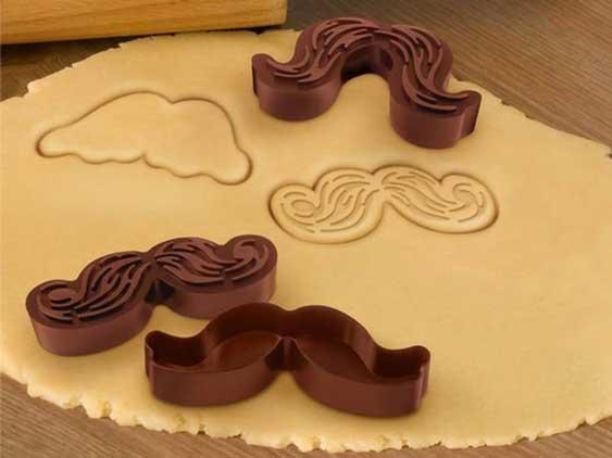carnival mustache cookie cutter