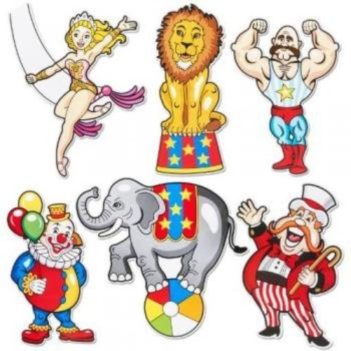 carnival cut outs