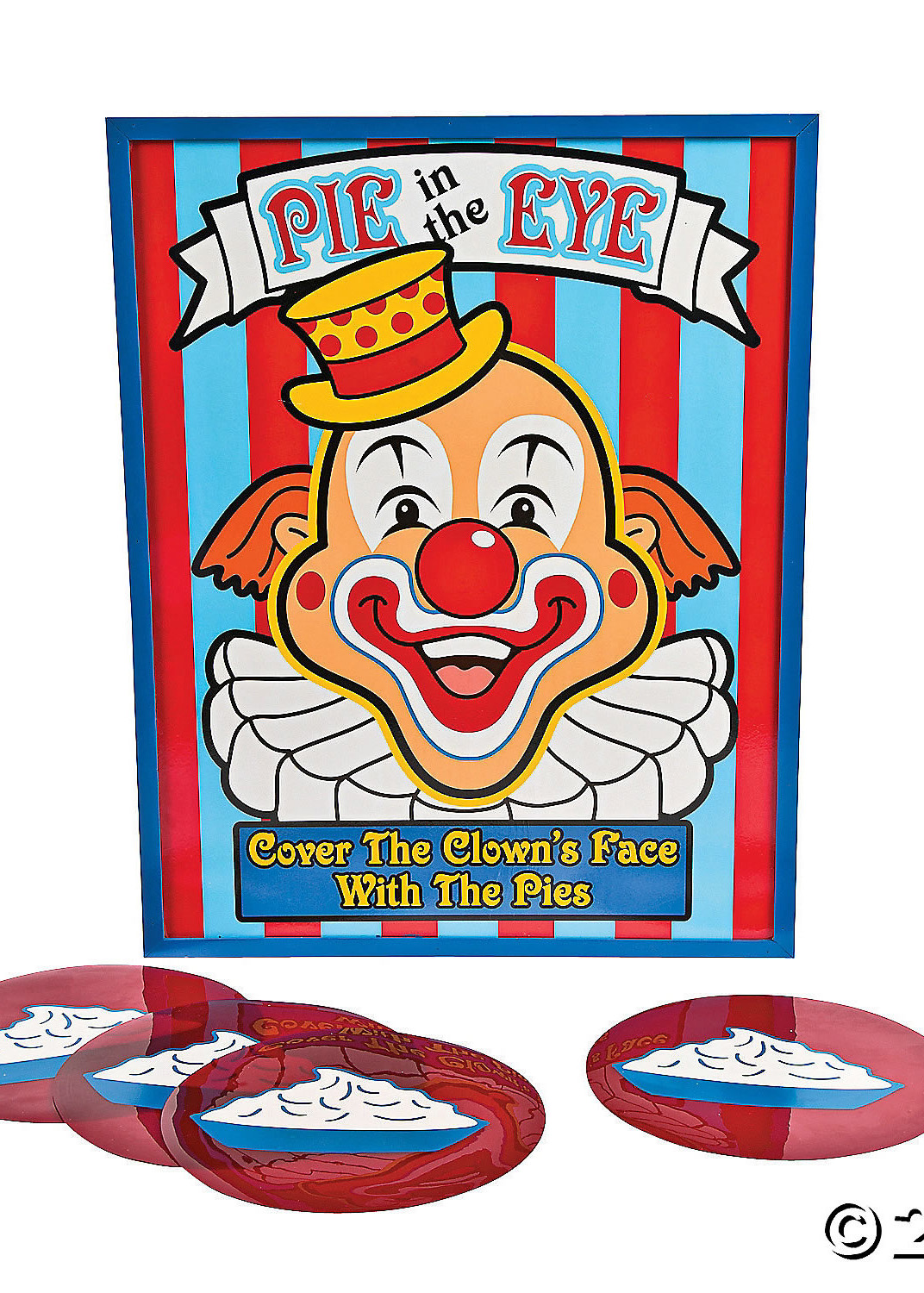 carnival party game pie in the eye