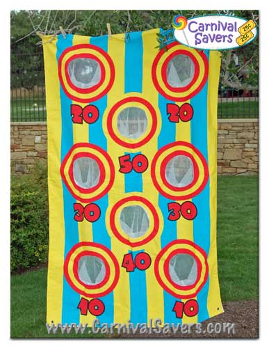 carnival Bean Bag Toss game