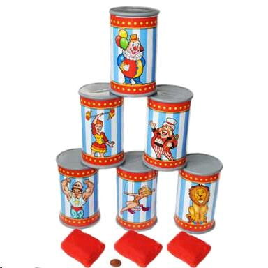 Carnival Tin Can Toss