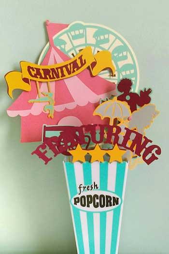 carnival centerpiece