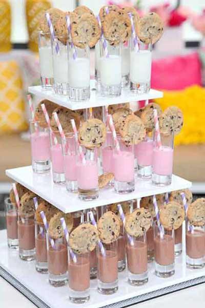 dessert table food display