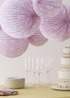 accordian paper lanterns