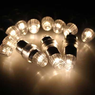 LED paper lantern lights