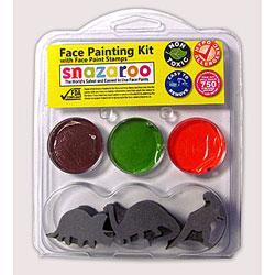 dinosaur face painting