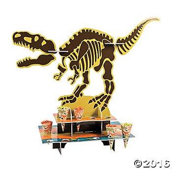 dinosaur treat stand