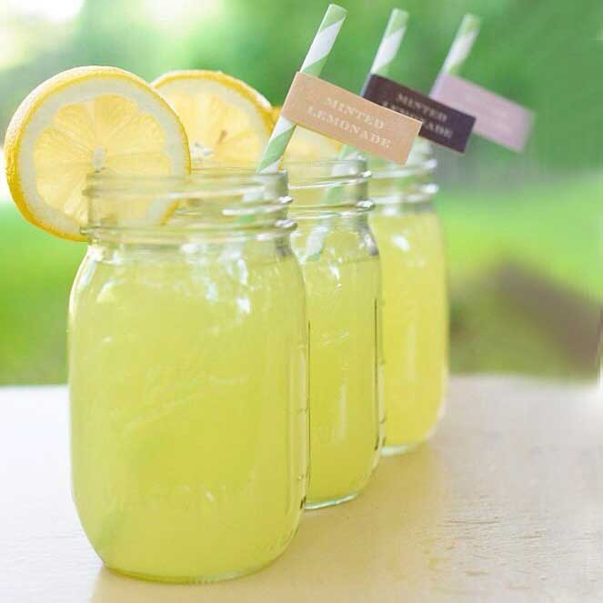 mason jar cocktails adult party drinks