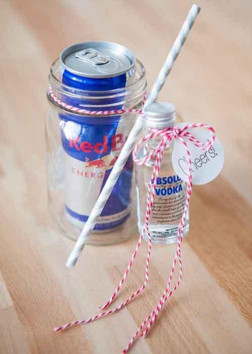 mason jar cocktail miniature liquors