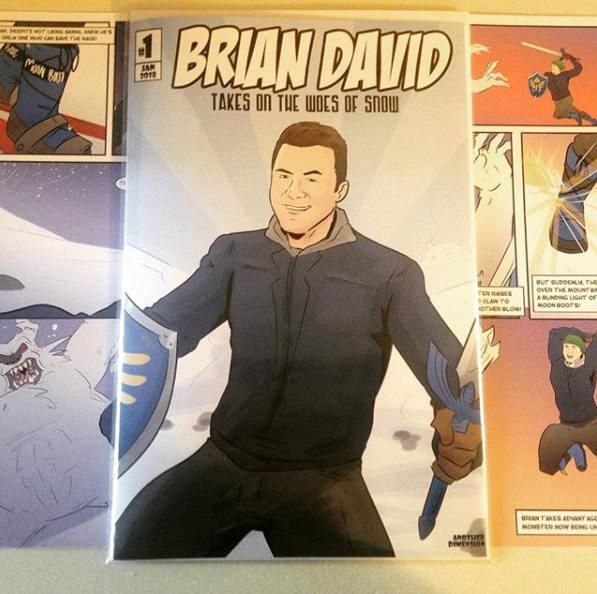 personalized comic book