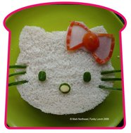 hello kitty sandwiches