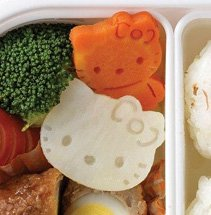 hello kitty vegetable cutter