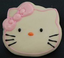 hello kitty rice krispie treats