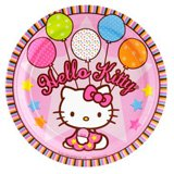 hello kitty plates