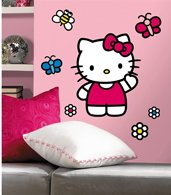 hello kitty wall decals