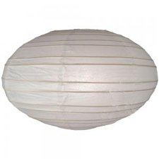 oval paper lantern