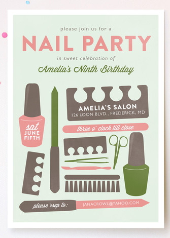 mail party invitation