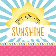 you are my sunshine theme