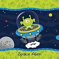 space alien party theme
