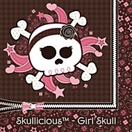skullicious girl party theme