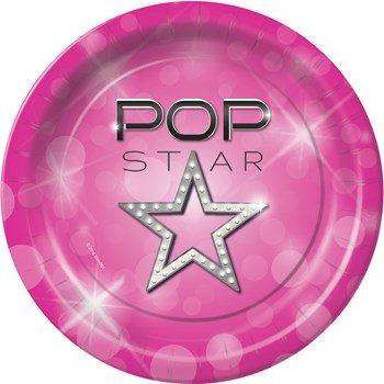 pop star party theme