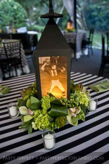 birthday party photo lanterns