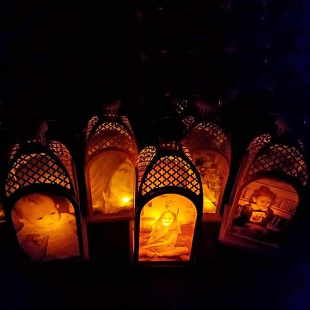 custom photo lanterns