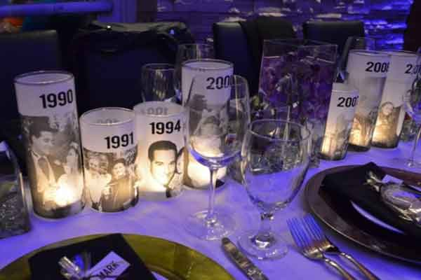 photo luminaries table decorations