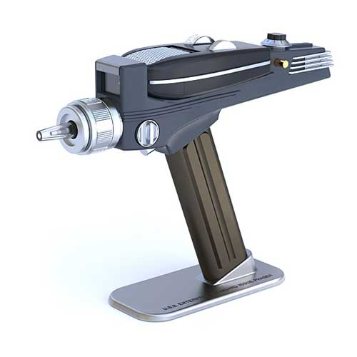 40th birthday gifts Star Trek phaser TV remote control