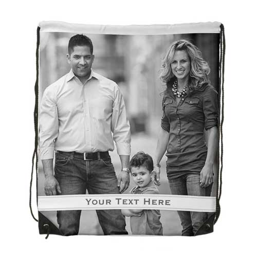 personalized photo collage backpack