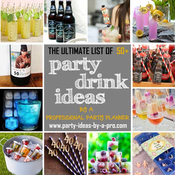 party drink ideas