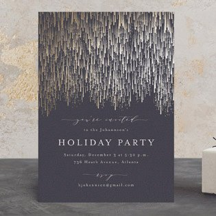 foil pressed invitations