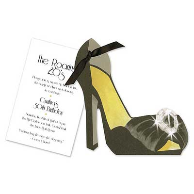 shoe invitation