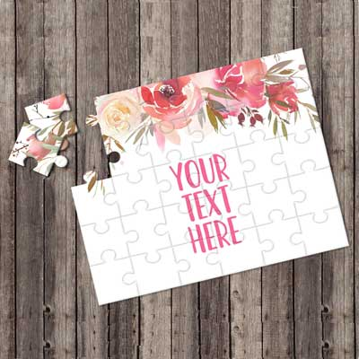 jigsaw invitations