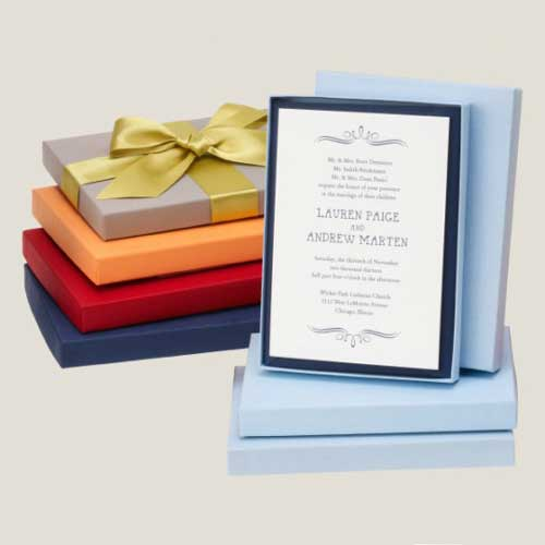 Balloon Invitation In A Box Mailers