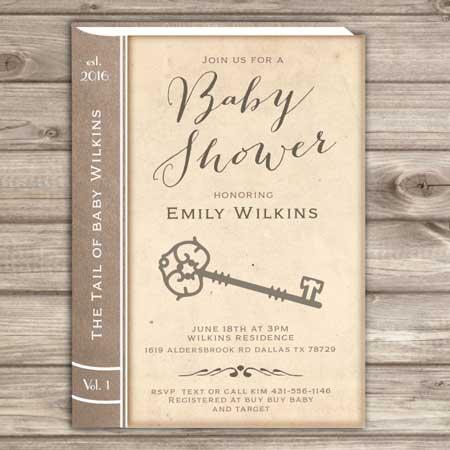 book invitations