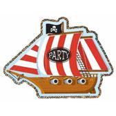 fill in pirate invitations