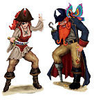 pirate wall decals