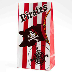 pirate treat bags