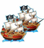 pirate party centerpiece