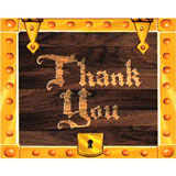 pirate thank you cards