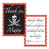 pirate thank you notes
