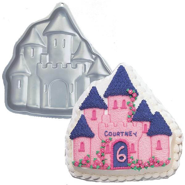 princess castle cake pan