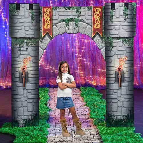 castle gateway prop